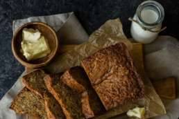 Banana bread and butter