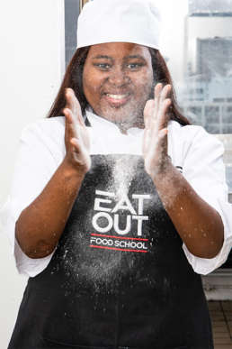 Eat Out Food School student